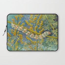 Cucullia Absinthii Caterpillar Laptop Sleeve