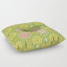 Lime Deco Floor Pillow