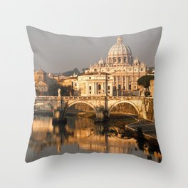 Rome 1 Throw Pillow