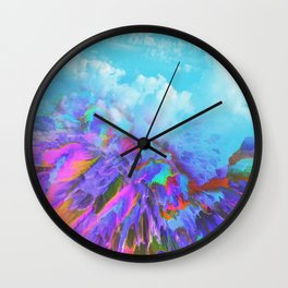 Liquid dream Wall Clock