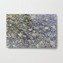 River + rocks Metal Print