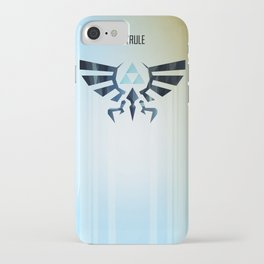 The Legend of Zelda - Hyrule Rising Poster iPhone Case