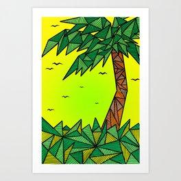 die Palme Kunstdrucke