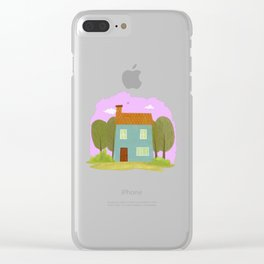 House #1 Clear iPhone Case