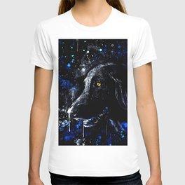 black labrador retriever dog wsdb T-shirt
