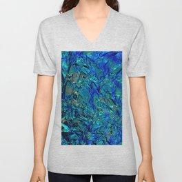 Crinkle Mermaid Unisex V-Neck