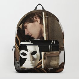 Art and man Backpack