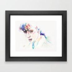 Troye Sivan WILD Inspired Artwork Framed Art Print