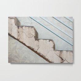 Tel Aviv Staircase Metal Print
