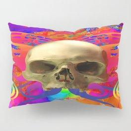 Skull Butterfly Pillow Sham