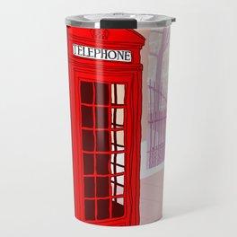 London Telephone Box Travel Mug