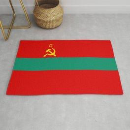 Flag of Transnistria Rug