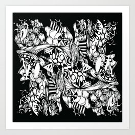 Complexity Art Print