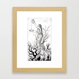 Tarot - Temperance Framed Art Print