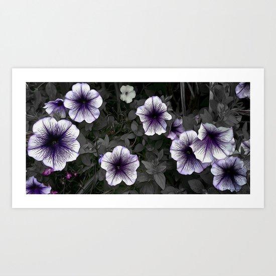 Strange Blooms Art Print