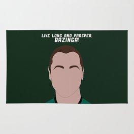 Live Long and Prosper, Bazinga! Rug