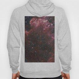 Red Burst Nebula Hoody
