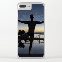Galaxy Zen Clear iPhone Case