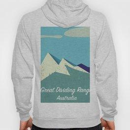 Australia Great Dividing Range Hoody