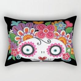 Catrina Skelly Rectangular Pillow