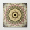 Vintage Gold Pink Mandala Design by artaddiction45