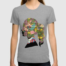 Flowery Girl T-shirt