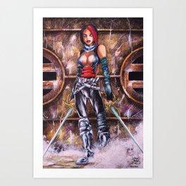 musketeer Art Print