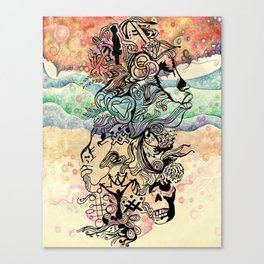 Zine Canvas Print