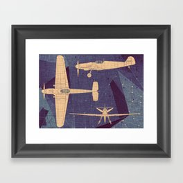 Aero Framed Art Print