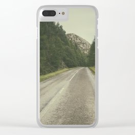 A Road in the Wilderness II Clear iPhone Case