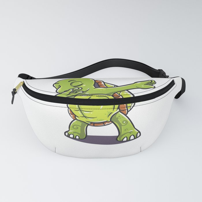 Funny dabbing turtle design perfect gift for men women kids Fanny Pack