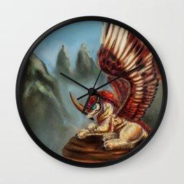 Rino owl Wall Clock