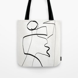 Abstract line art 6 Tote Bag