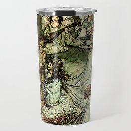 """Titania"" by Arthur Rackham From Shakespeare Travel Mug"
