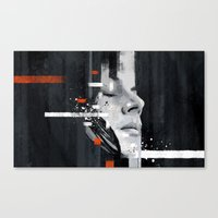 jack white Canvas Prints featuring Hip Poor Boy by Your Music Design