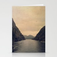 mountains Stationery Cards featuring mountains by Ingrid Beddoes photography