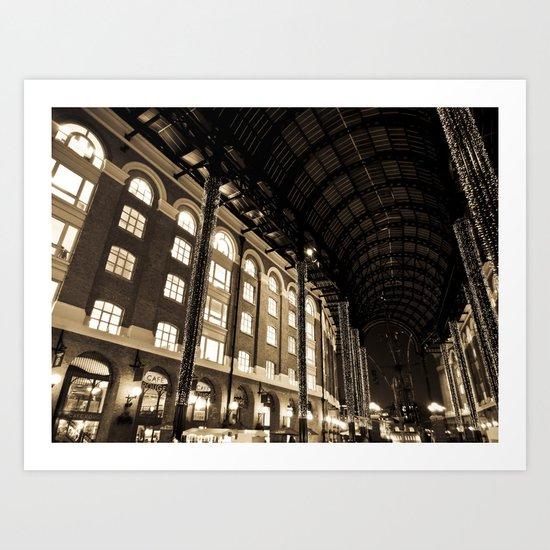 Hay's Galleria London Art Print