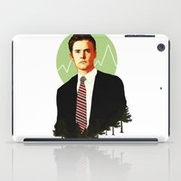 dale cooper iPad Cases featuring Cooper by chazstity