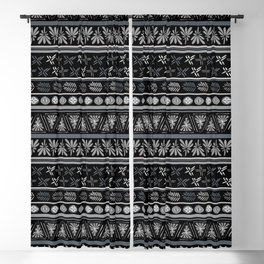 Bohemian Mud cloth Blackout Curtain
