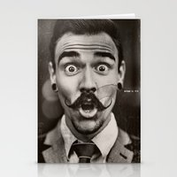"gentleman Stationery Cards featuring Gentleman by ""CVogiatzi."
