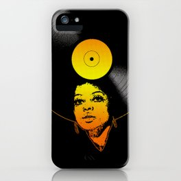 Afrovinyl (Soul) iPhone Case