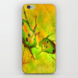 les amours des scarabées chinois iPhone Skin