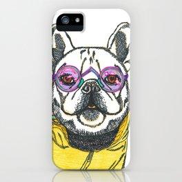 Stylish doggy iPhone Case