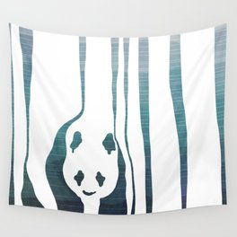 Panda's Way Wall Tapestry