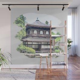 ginkaku ji temple japan Wall Mural