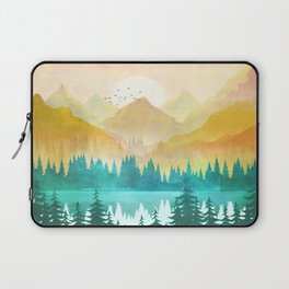Summer Mountain Sunrise Laptop Sleeve