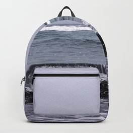 Snowing on the Waves Backpack