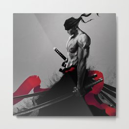god of the sword Metal Print