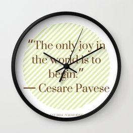 3     Positive Vibe Quotes   190522 Wall Clock