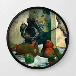 1886 - Gauguin - Still Life with Profile of Laval Wall Clock